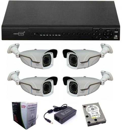 2mpixel full hd biztonsági kamera rendszer
